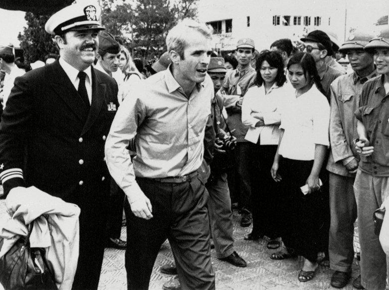 POW John McCain 1973, Hanoi, Vietnam