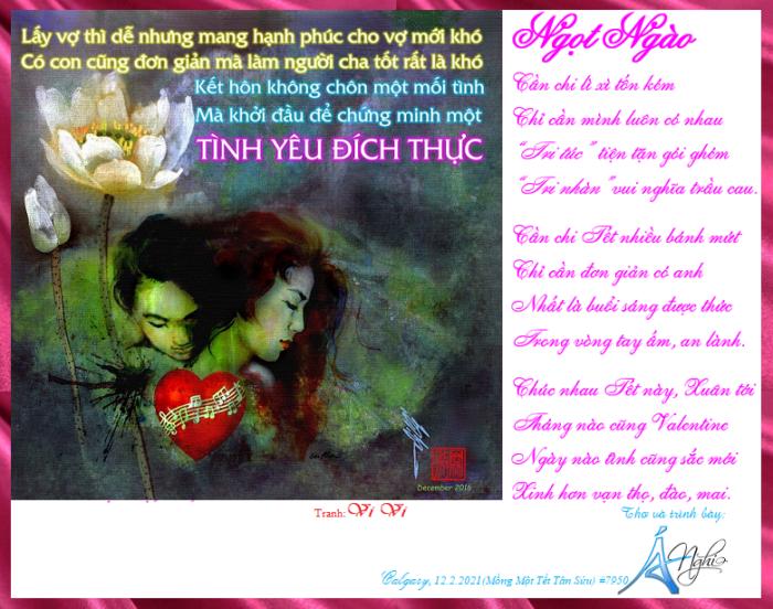 Tinh Yeu Dich Thich Ynga