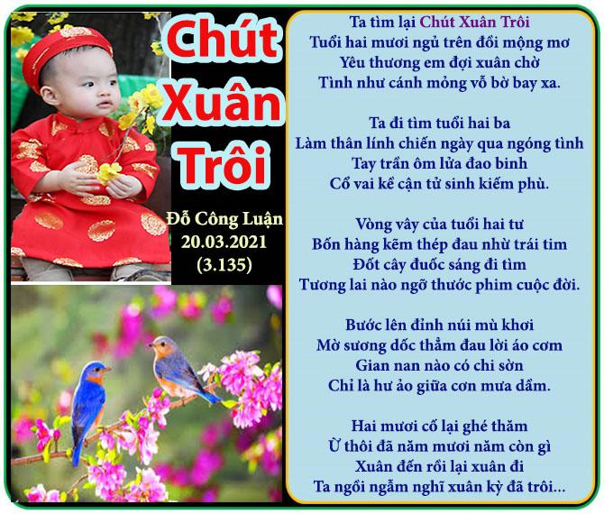499, Chút Xuân Trôi Do Cong Luan