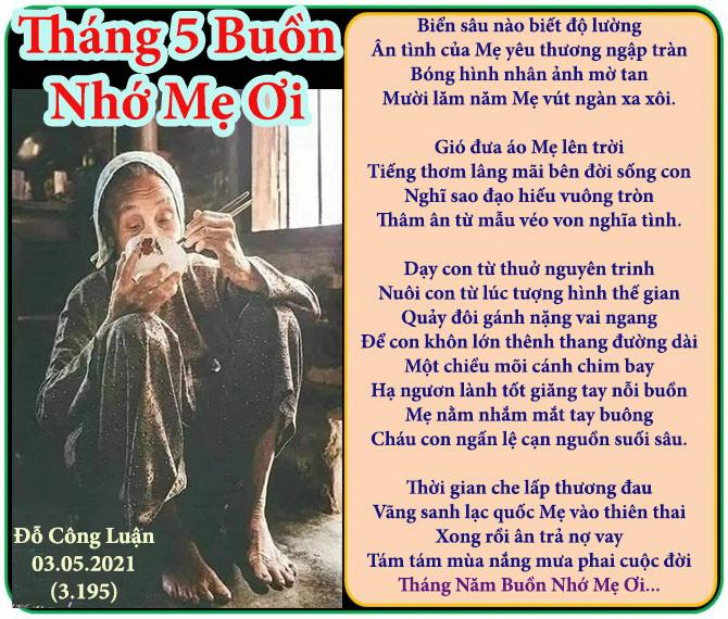 Thang 5 Buon Nho Me Oi Do Cong Luan