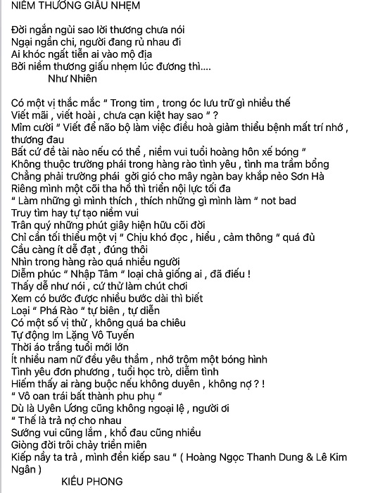 Kieu Phong Niem Dau