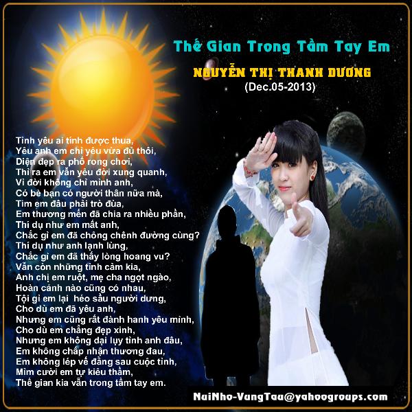 Thế Gian Trong Tầm Tay Em (nt Thanh Dương)