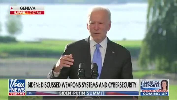 Biden gọi nhầm Putin thành Trump