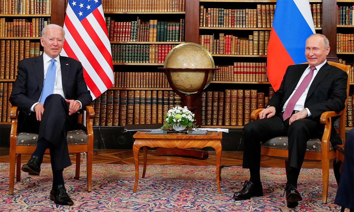 Những bất đồng trong thượng đỉnh Putin - Biden
