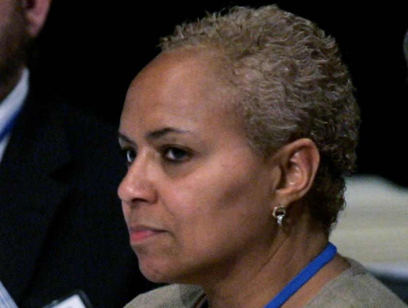 Tina Flournoy trong một hội nghị năm 2008. Ảnh: AP.