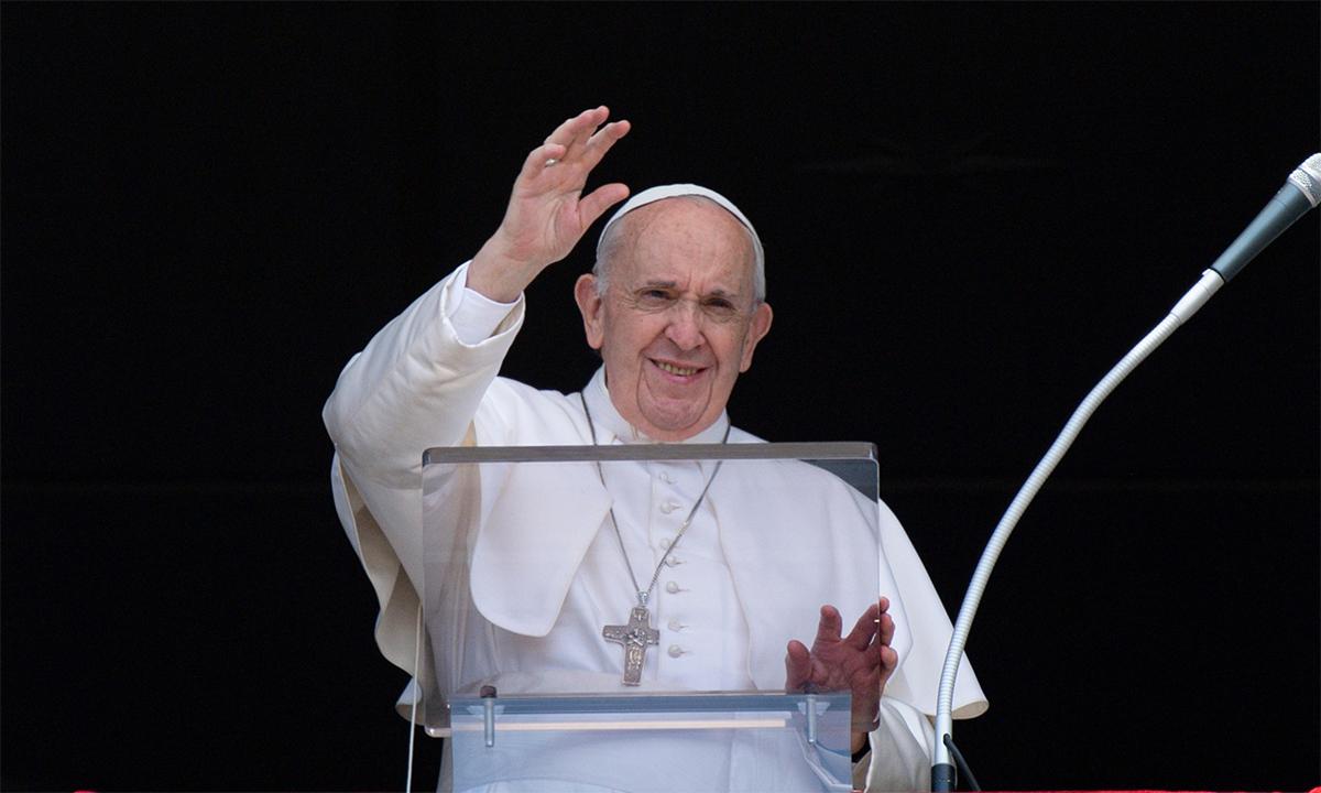 Giáo hoàng Francis tại một buổi lễ ở Vatican ngày 4/7. Ảnh: Reuters.