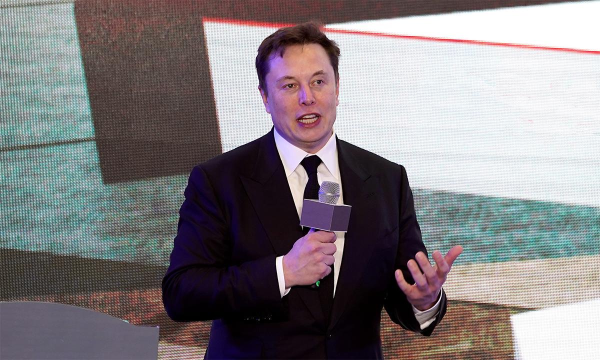 Elon Musk trong một sự kiện tại Thượng Hải, Trung Quốc tháng 1/2020. Ảnh: Reuters.