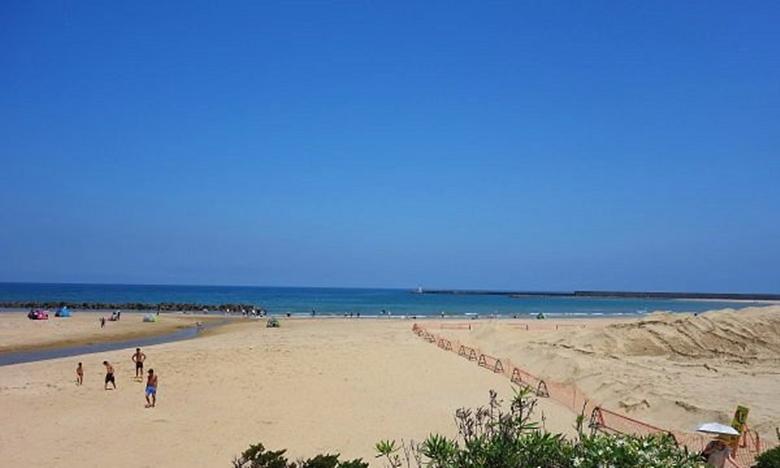 Bãi biển Ashiya thuộc huyện Onga, tỉnh Fukuoka. Ảnh: Tripadvisor.